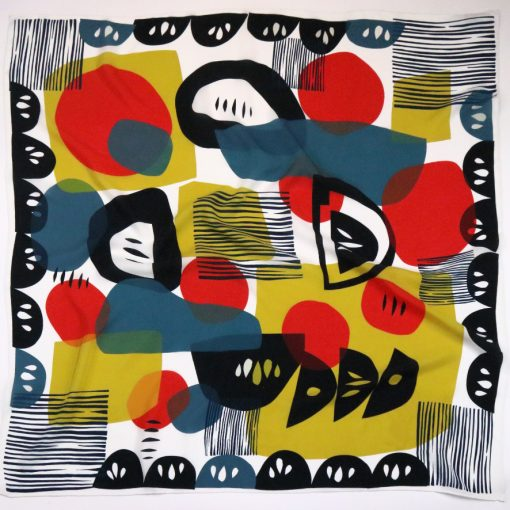 Jennie Jackson, Square Troubadour scarf