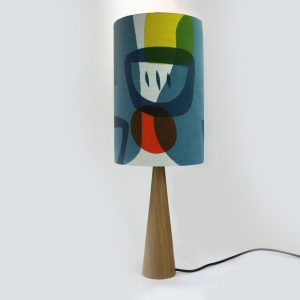 Jennie Jackson, Troubadour tall lampshade
