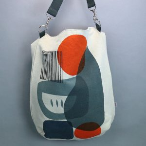 Jennie Jackson, Troubadour grey everyday shoulder bag