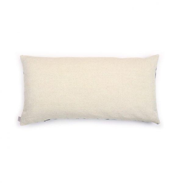 Jennie Jackson, Ada design square cushion reverse linen