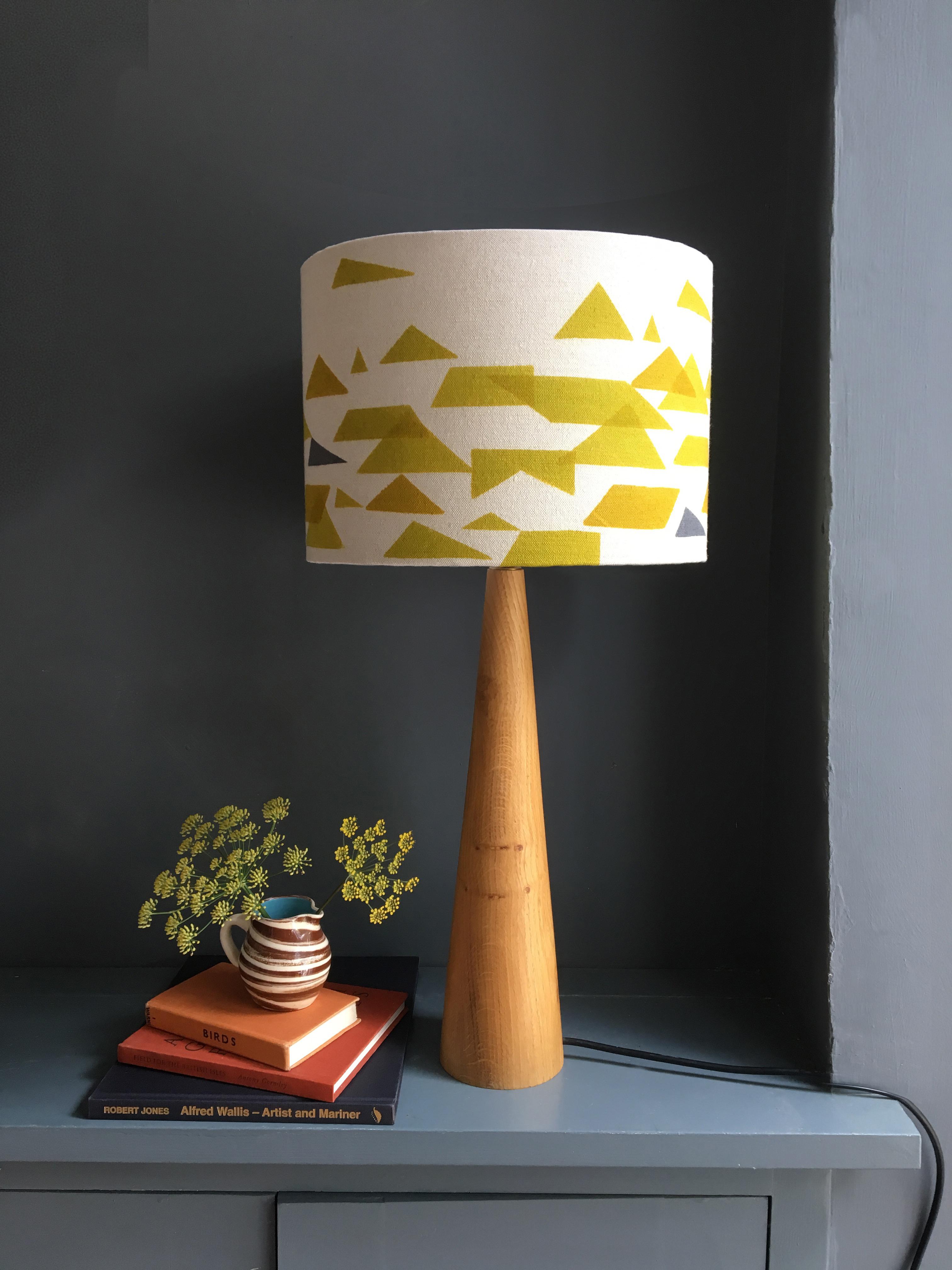 Jennie Jackson, St Ives contemporary designer Lampshade